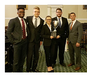 Dickinson Law's ABA Moot Court Team