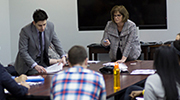 Dickinson Law students hone skills at mock hearing