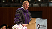 Former Governor Tom Ridge delivers Commencement address