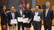 Students recognized for commitment to service
